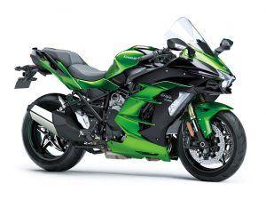 Kawasaki Ninja H2 SX motor