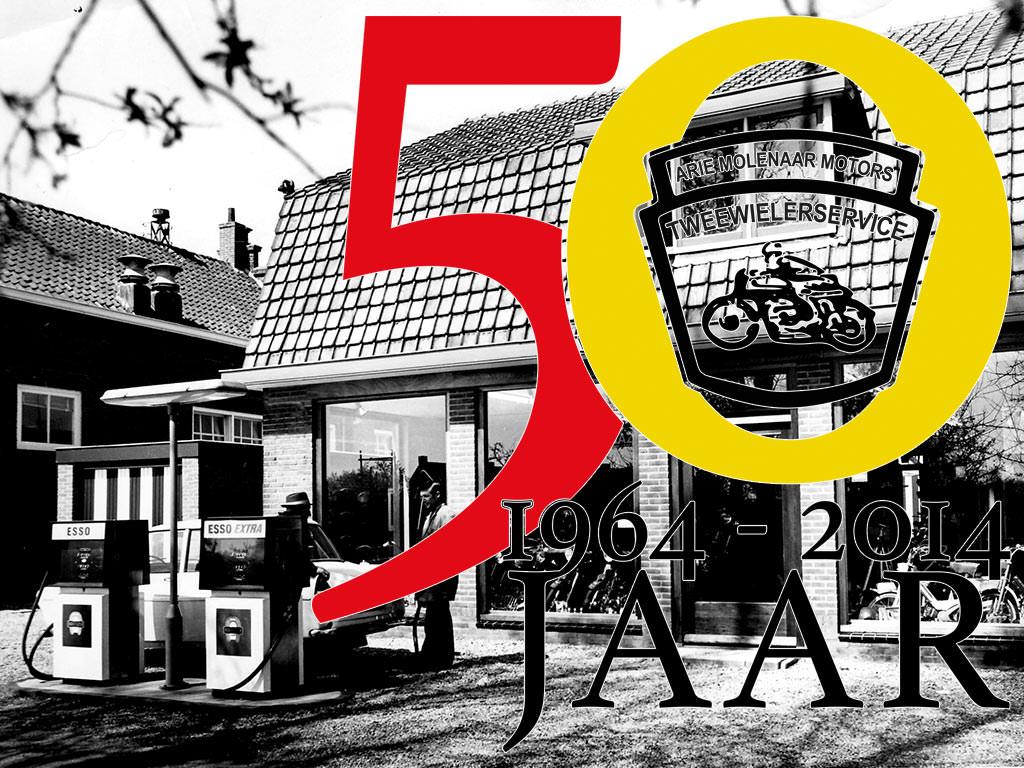 50 jaar Arie Molenaar Motors