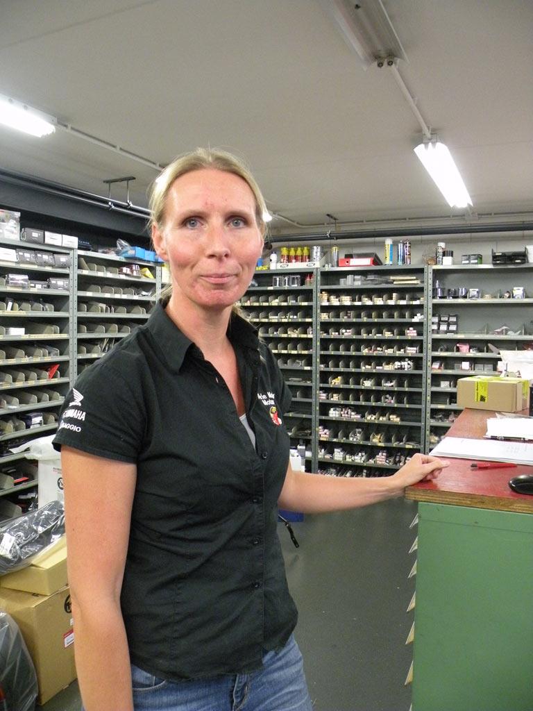 Crew Arie Molenaar Motors - Helga
