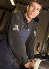 Crew Arie Molenaar Motors - Charel