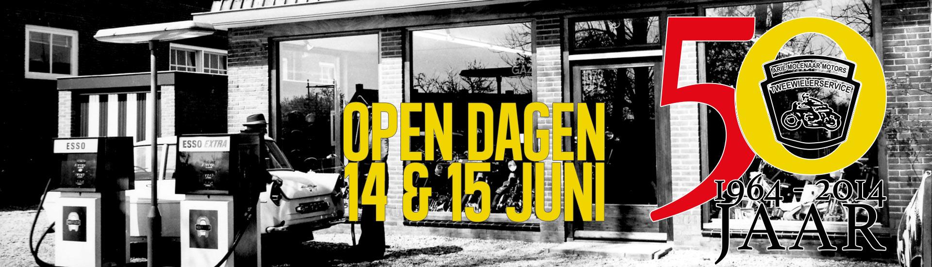 14 en 15 juni Open Dagen Arie Molenaar Motors