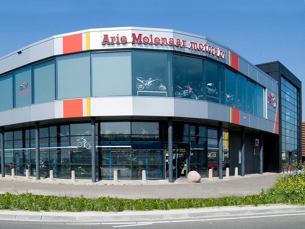 Pand Arie Molenaar Motors