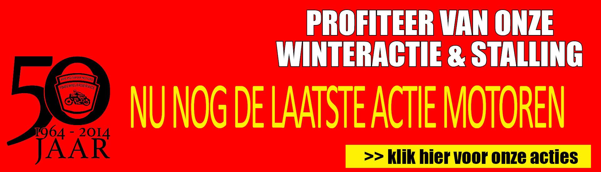 Winteractie bij Arie Molenaar Motors