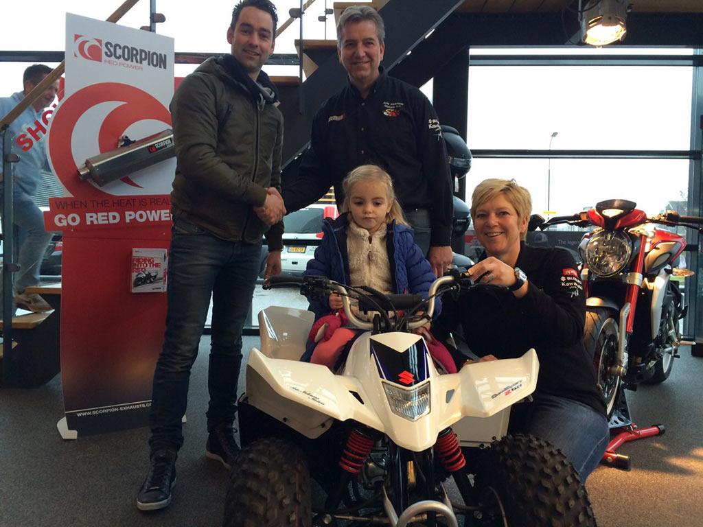 Winnaar Facebook Actie Arie Molenaar Motors