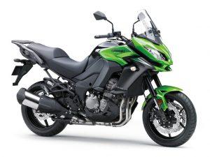 Kawasaki Versys 1000 Tourer groen