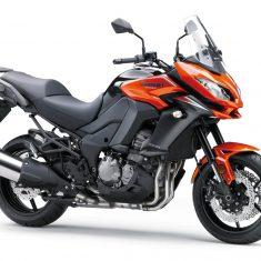 Kawasaki Versys 1000 Tourer oranje