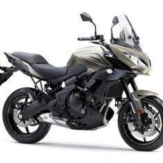 Kawasaki Versys 650 zilver