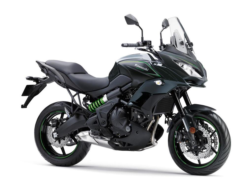 Kawasaki Versys 650 zwart