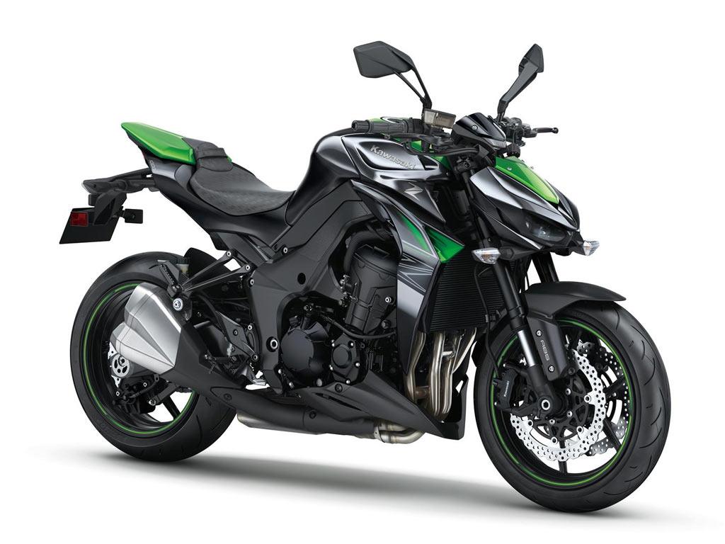 Kawasaki Z1000 zwart 2017