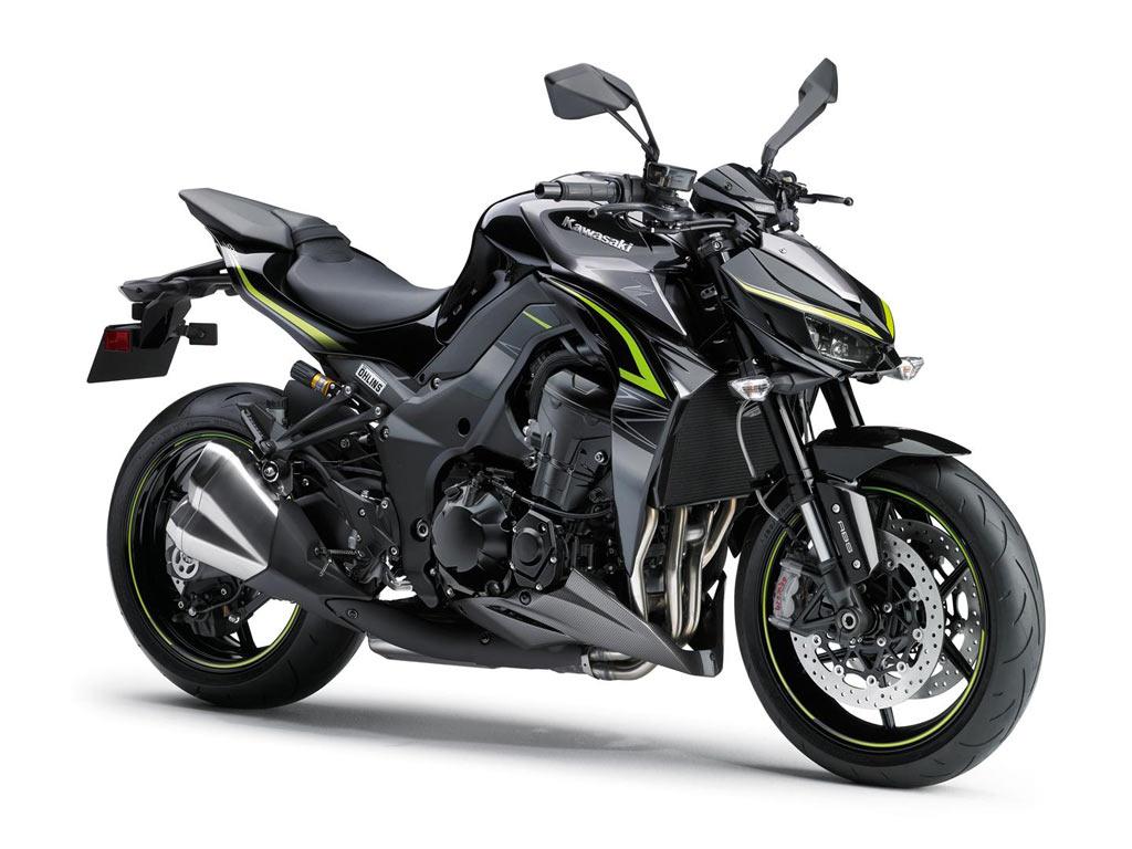 Kawasaki Z1000R zwart 2017