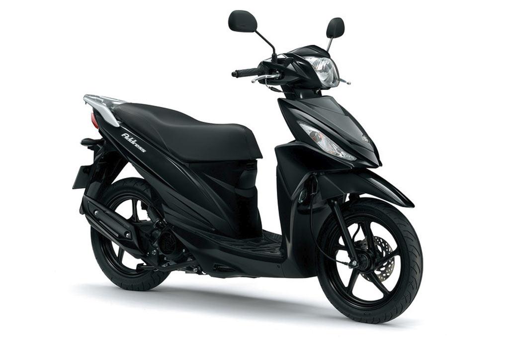 Suzuki Address 110 zwart