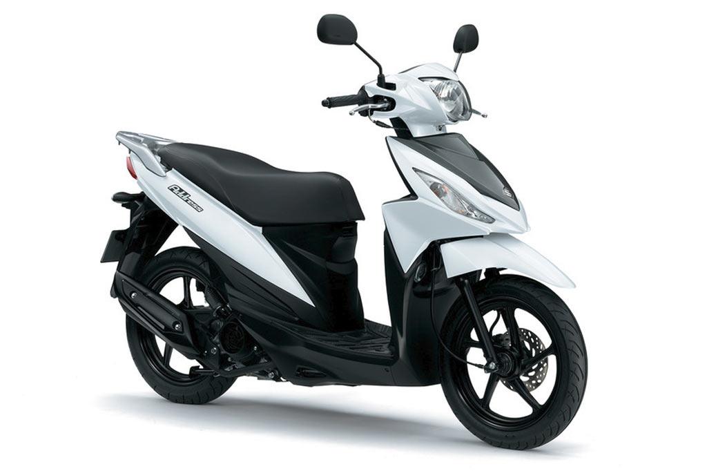 Suzuki Adress 110 wit