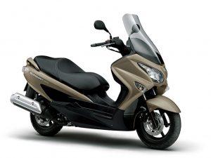 Suzuki-Burgman-200A-mat-titanium