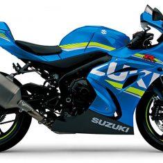 Suzuki GSX R 1000 A blauw