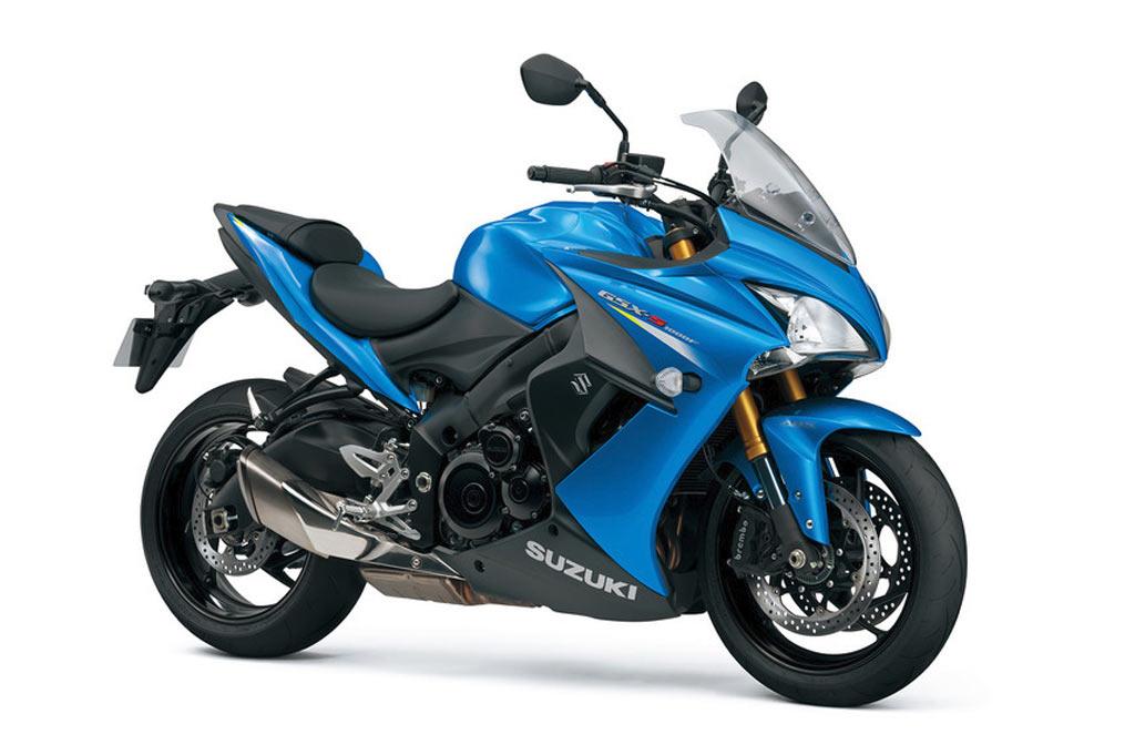 Suzuki GSX S1000FA blauw