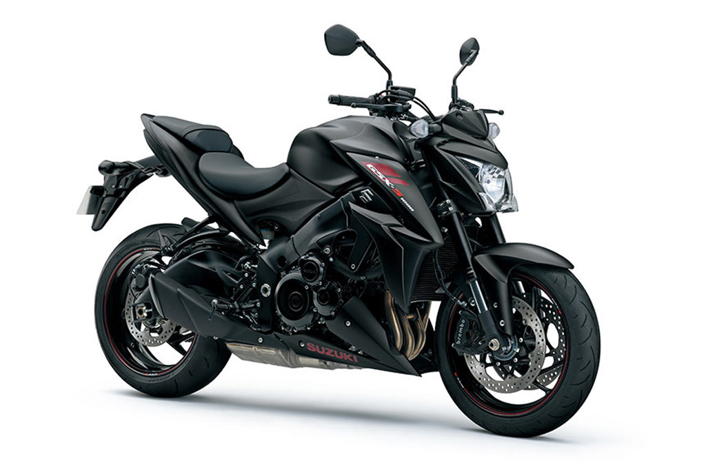 Suzuki GSX S1000ZA mat zwart