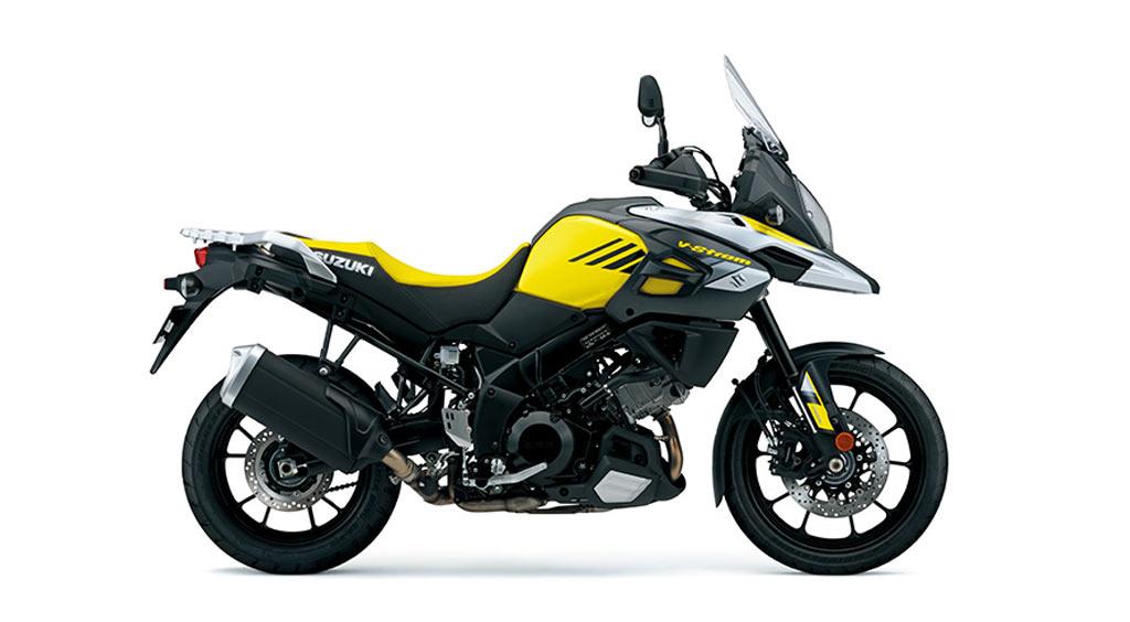Suzuki V strom 1000 A geel