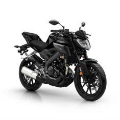 Yamaha MT 125 mat zwart