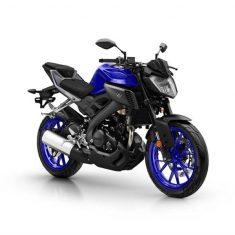 Yamaha MT 125 zwart blauw