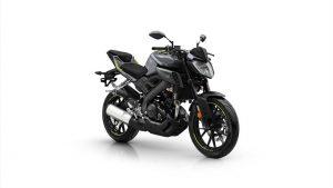 Yamaha MT 125 zwart grijs