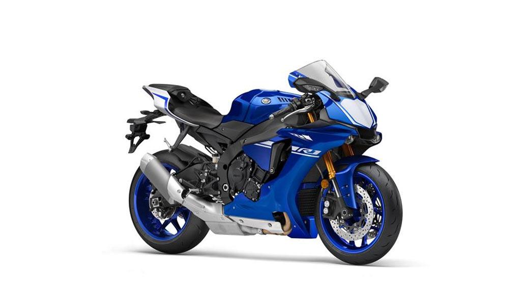 Yamaha YZF R1 blauw
