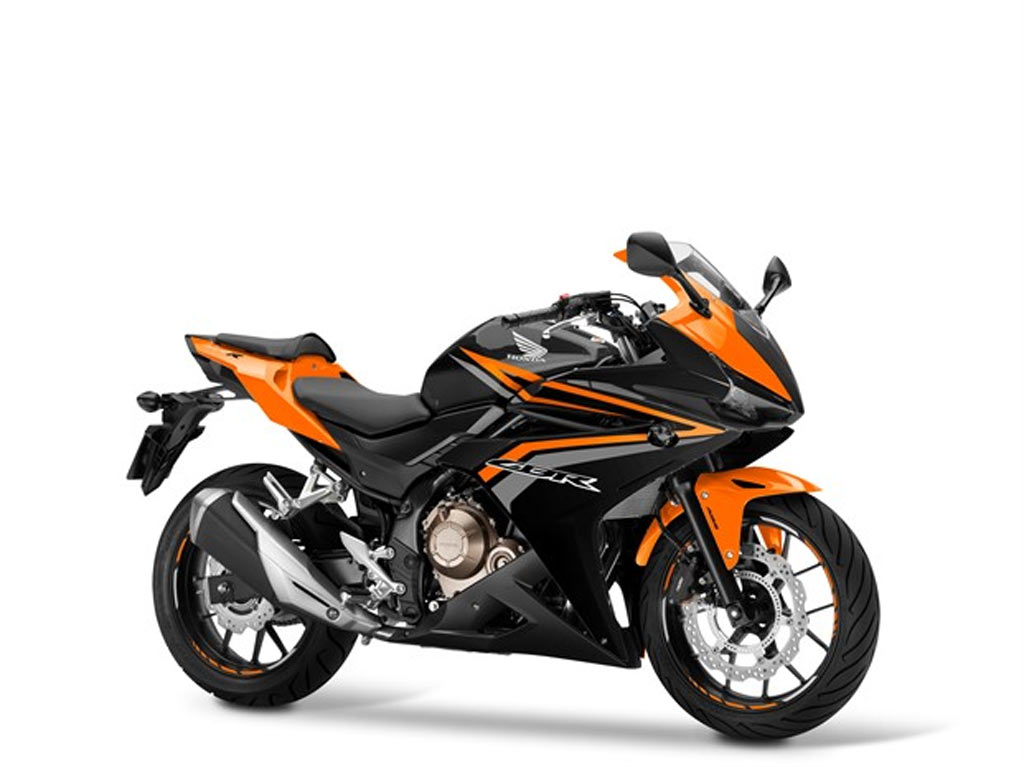 HONDA CBR 500 R zwart oranje
