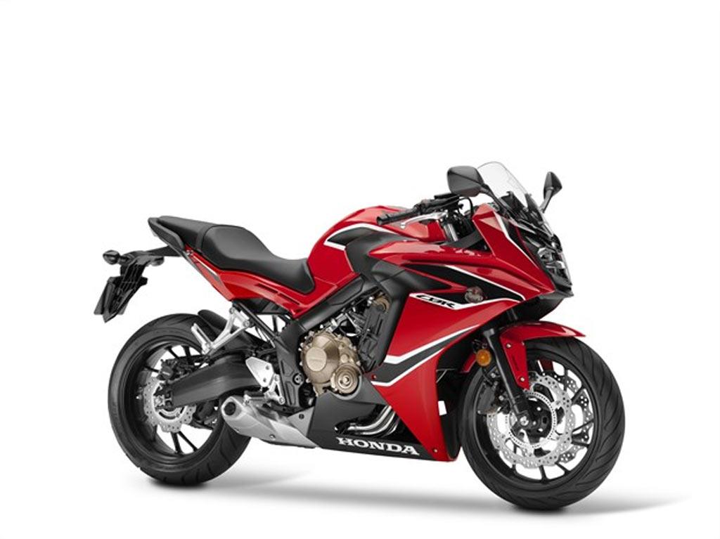 HONDA CBR 650 F rood
