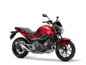 HONDA NC 750S zwart rood