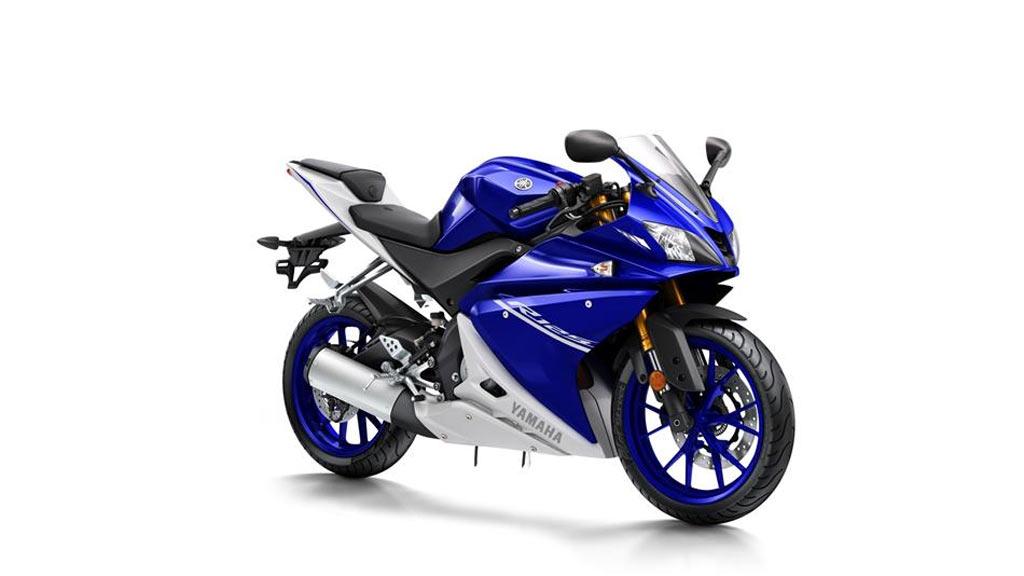 Yamaha R125 blauw