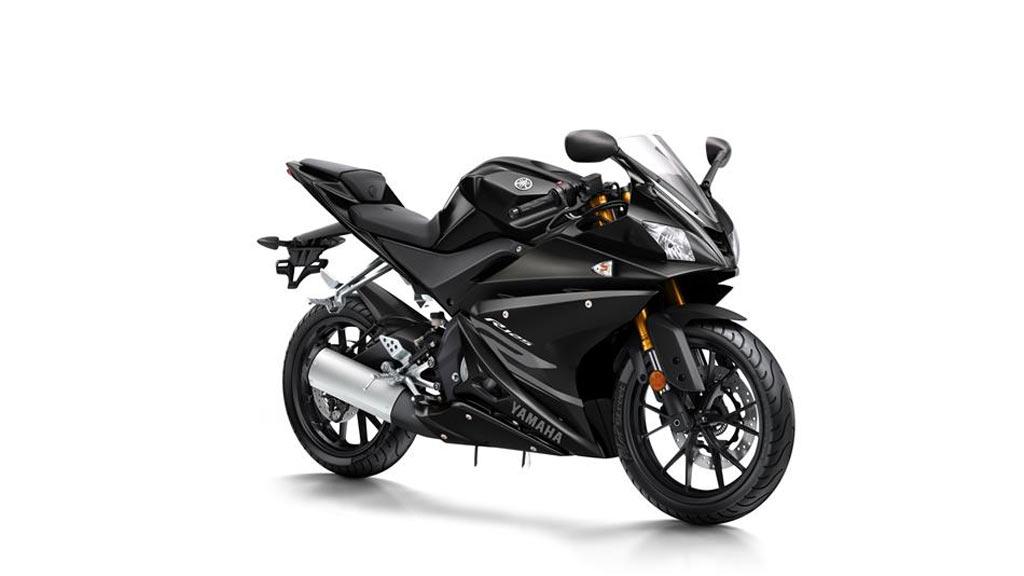 Yamaha R125 zwart
