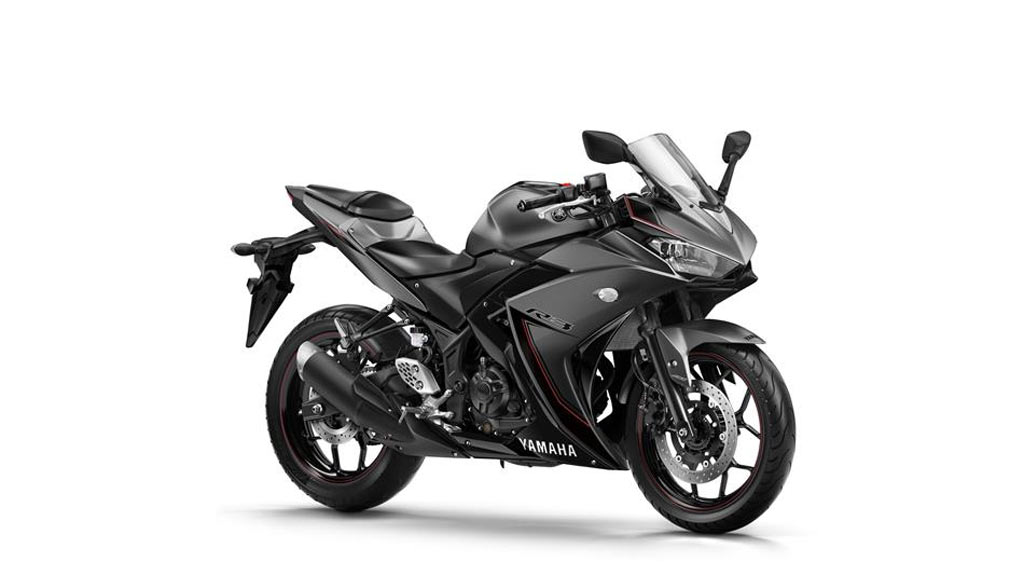 Yamaha YZF R3 grijs