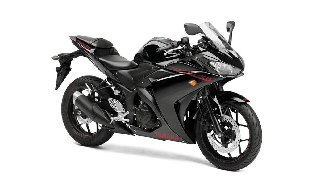 Yamaha YZF R3 zwart