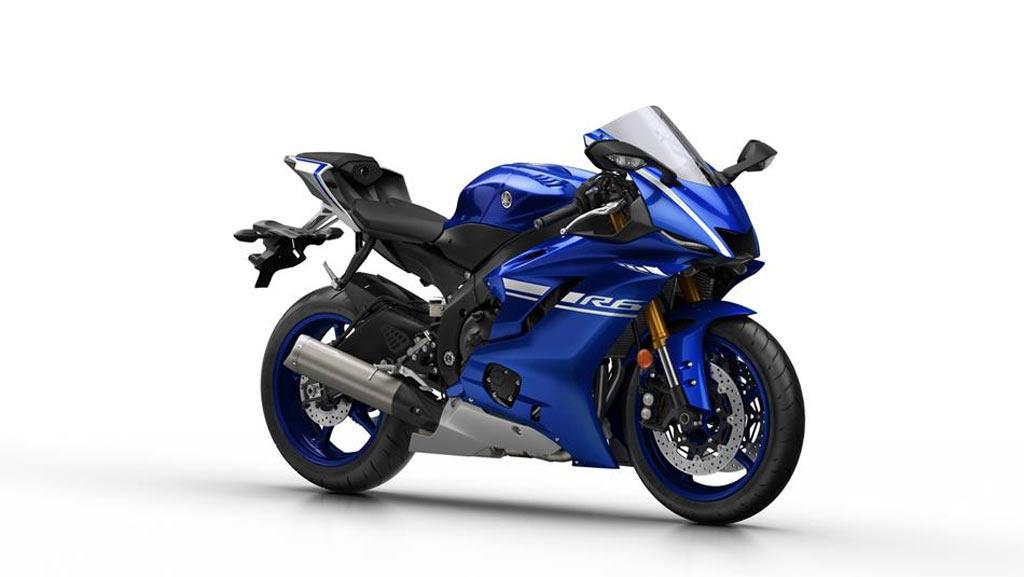 Yamaha YZF R6 blauw