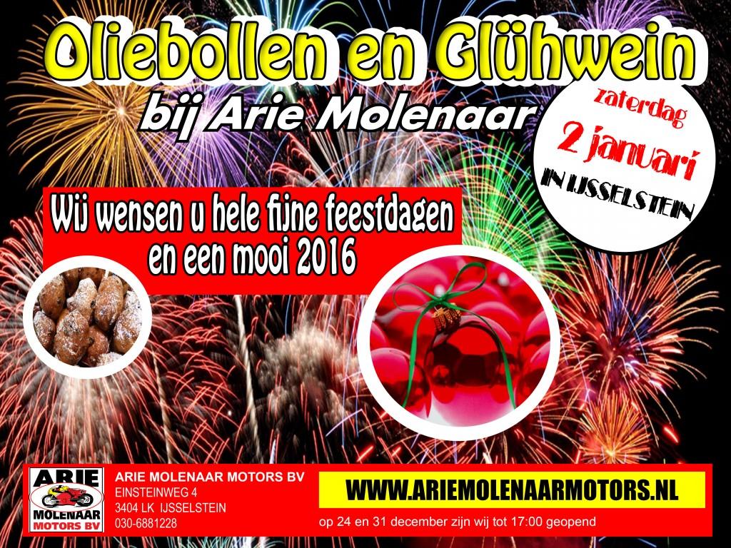 Nieuwsbrief december 2016 Arie Molenaar Motors