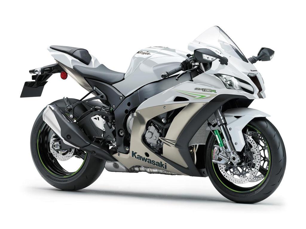 Kawasaki ZX 10R wit