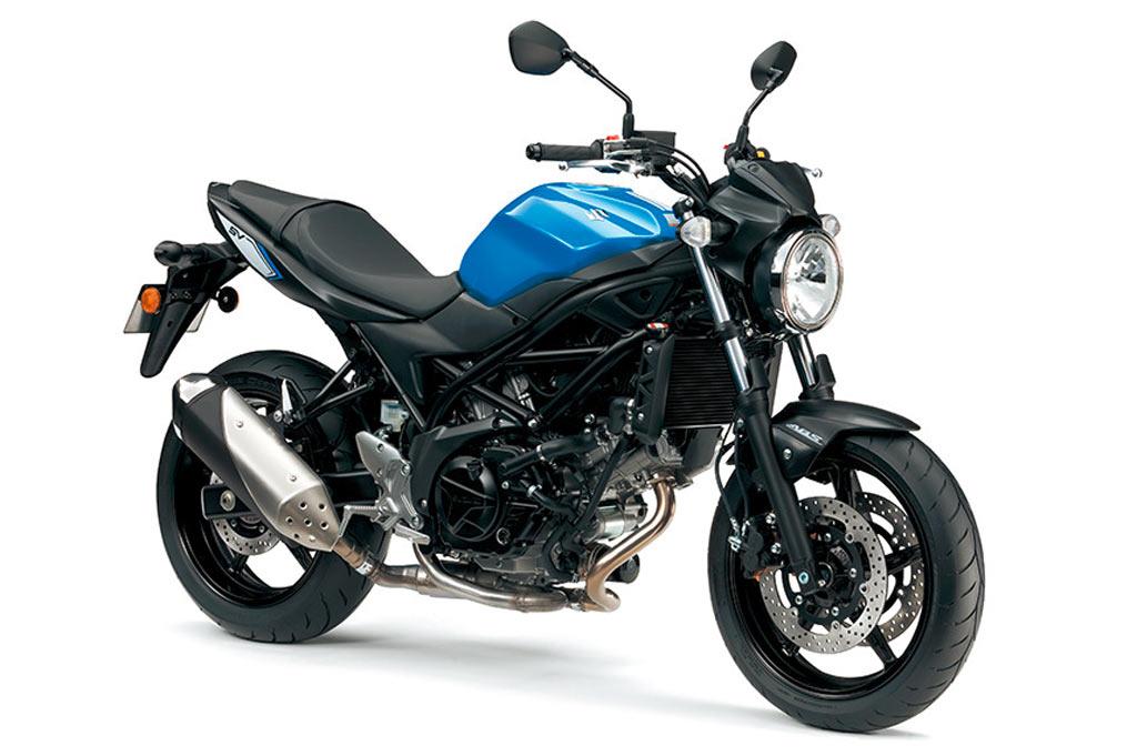 suzuki SV650 ABS blauw