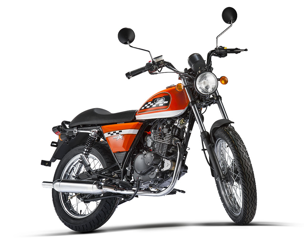 Mash Seventy 125 Orange