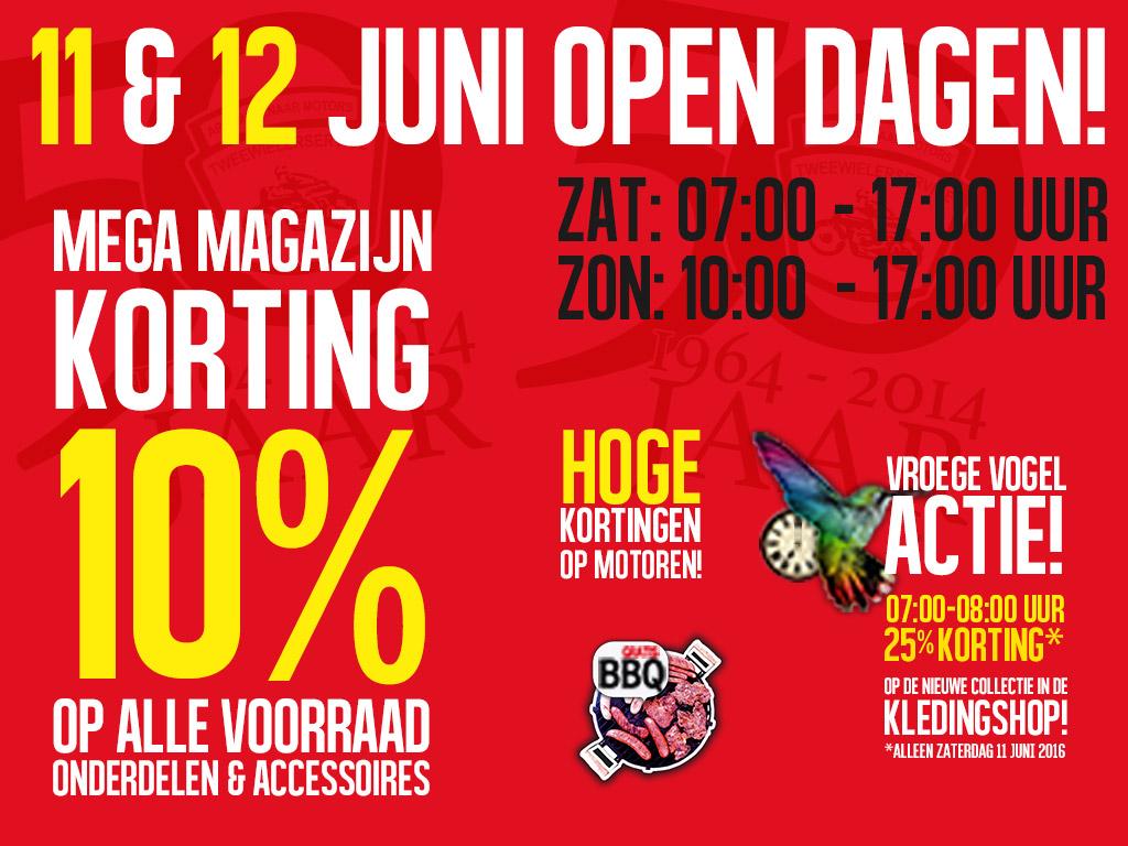 11 en 12 juni open dagen Arie Molenaar Motors