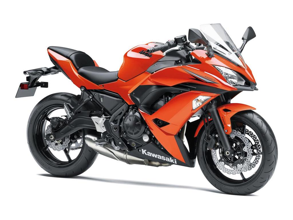 Kawasaki Ninja 650 orange 2017