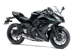 Kawasaki Ninja 650 zwart 2017