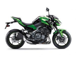 Kawasaki Z900 zwart groen