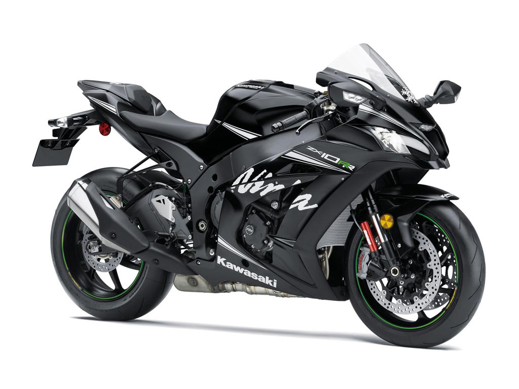 Kawasaki ZX10RR zwart