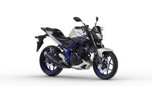 Yamaha MT 03 zilver