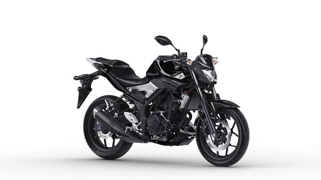 Yamaha MT 03 zwart