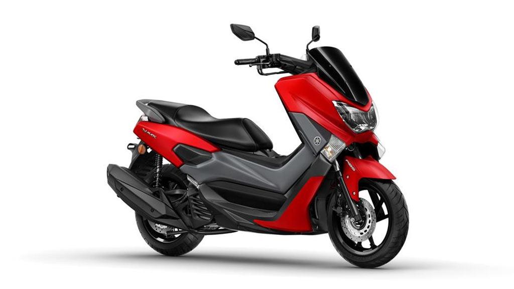 Yamaha NMAX rood
