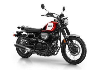 Yamaha SCR 950 zwart rood