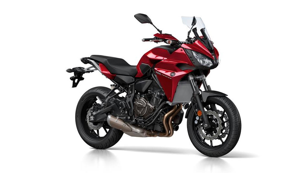 Yamaha Tracer 700 rood