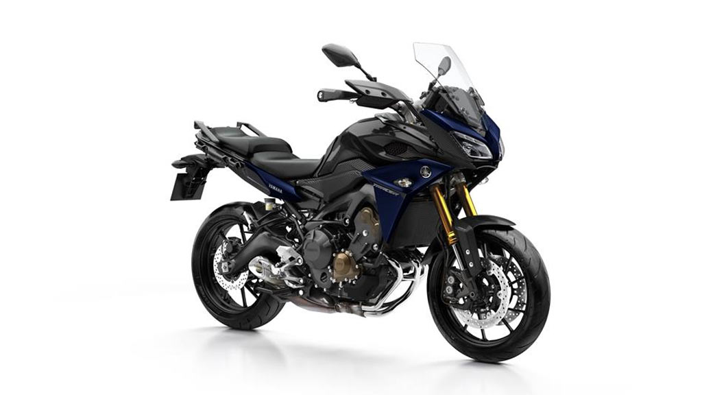 Yamaha Tracer 900 zwart blauw