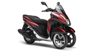Yamaha Tricity 125 rood