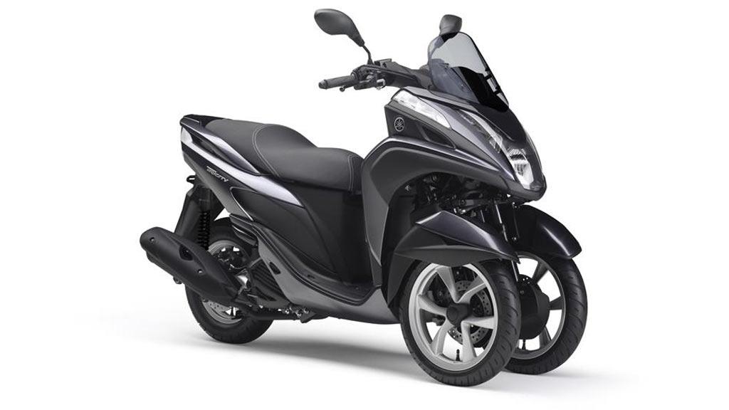 Yamaha Tricity 125 zwart